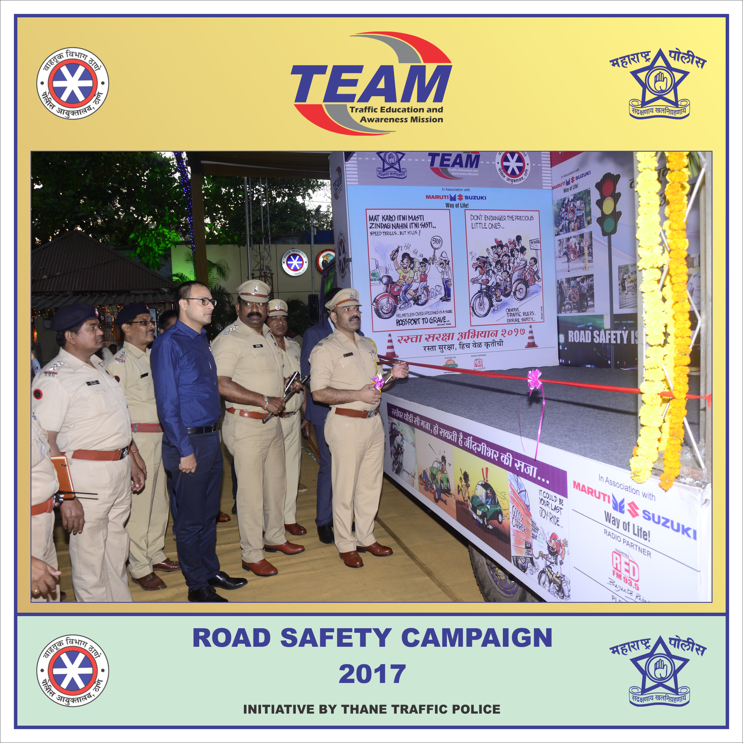 speech on road safety campaign Road safety tips, road safety programs and road safety campaigns are made to promote road safety in india.